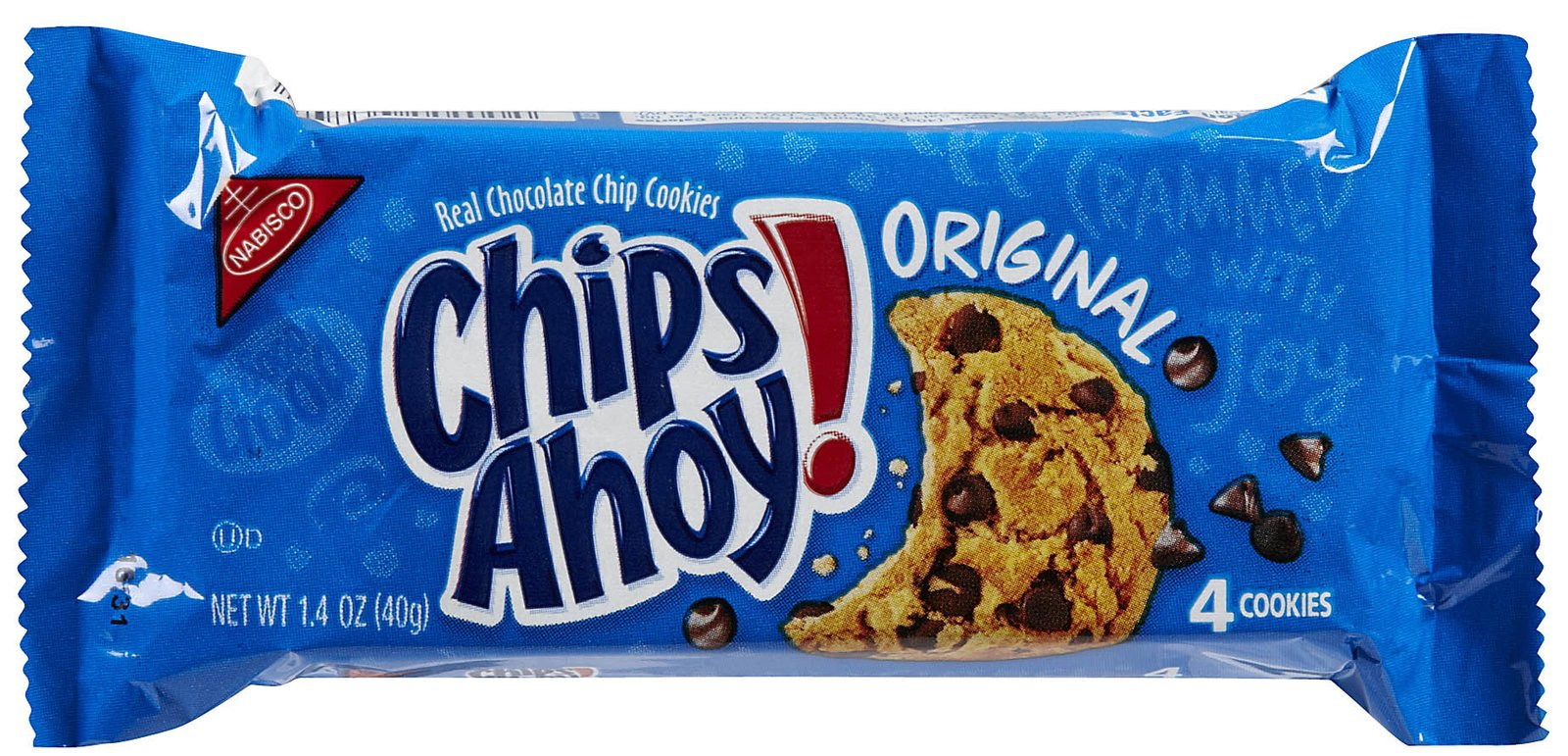 chips ahoy Nabisco chips ahoy original real chocolate chip cookies are the world's favorite chocolate chip cookies packed with chocolate chips baked into every bite.