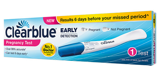 Clearblue Pregnancy Test Lou Perrine S