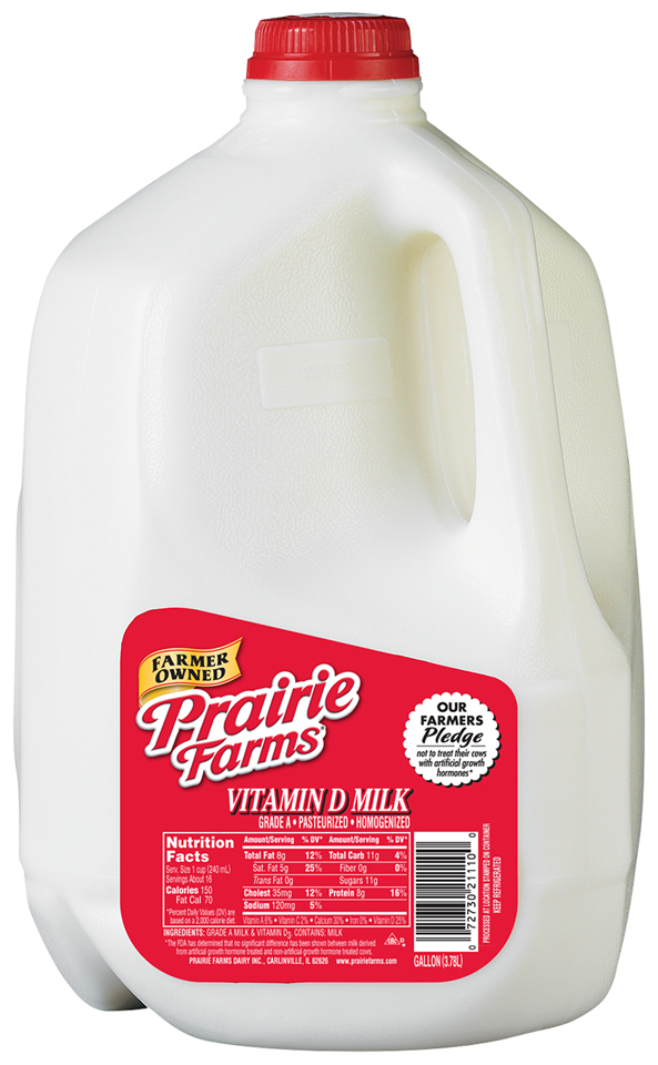 prairie farms whole milk gallon � lou perrines