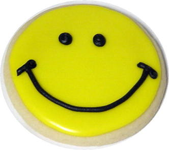 smiley face cookie lou perrine s